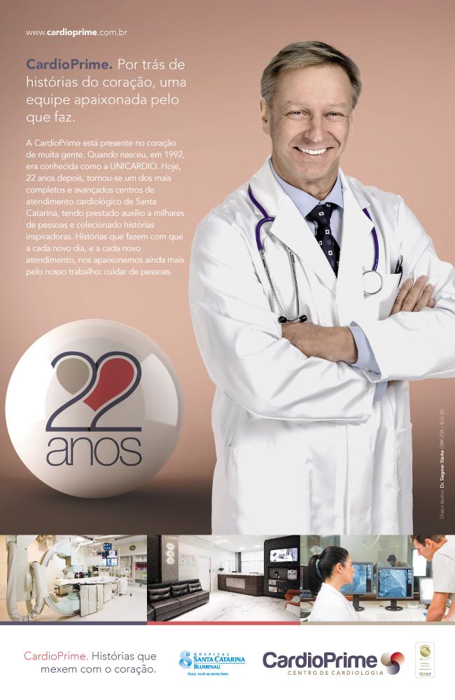 22 Anos CardioPrime (2014)