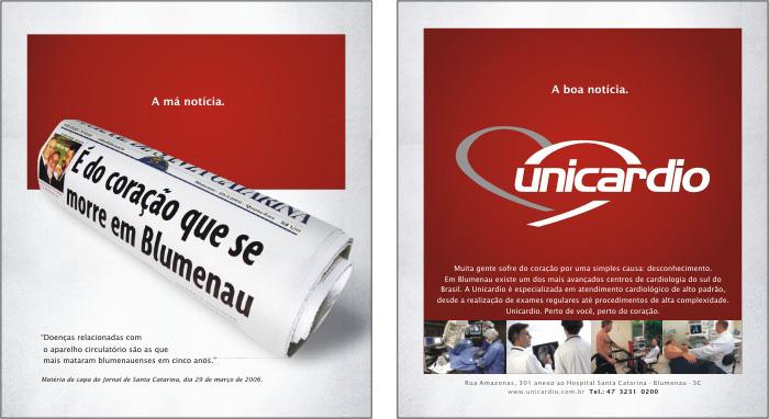Anúncio Jornal de Santa Catarina  Abril de 2006